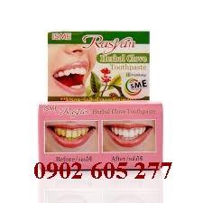 Kem trắng răng Rasyan Thái Lan tại TP HCM – tuyển sỉ, CTV toàn quốc