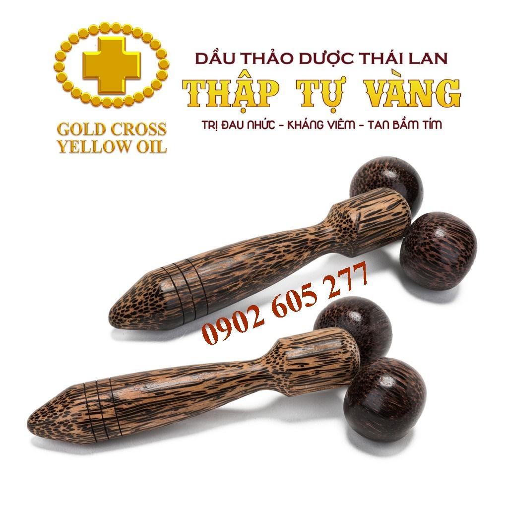Cây lăn gỗ massage Thái Lan