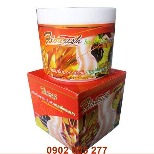 Bạn muốn có một vòng eo thon gọn không có mỡ thừa bạn nên muaKem tan mỡ bụng gừng ớt Flourish Thái Lan