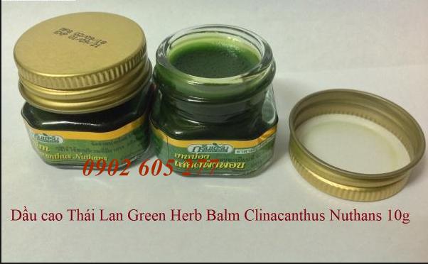 Dầu Cù Là Green Herb Thái Lan giá sỉ