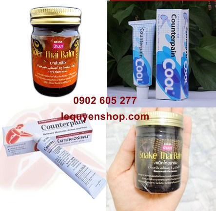 các dầu cù là thái lan và dầu xoa bóp thái lan tốt nhất và được khách ưa chuộng nhất tại thái lan