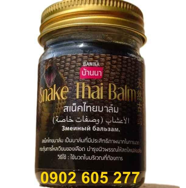 dầu cù là Rắn Thái Lan Snake Thai tri đâu nhứt