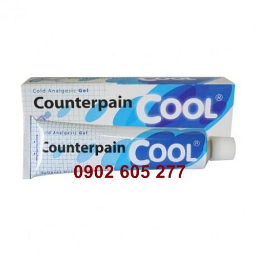 Gel lạnh Counterpain Cool Thái Lan chuyên trị dâu nhứt