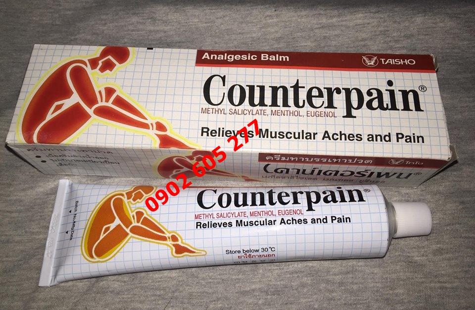 Giới thiệu thuốc xoa bóp Counterpain hot Thái lan