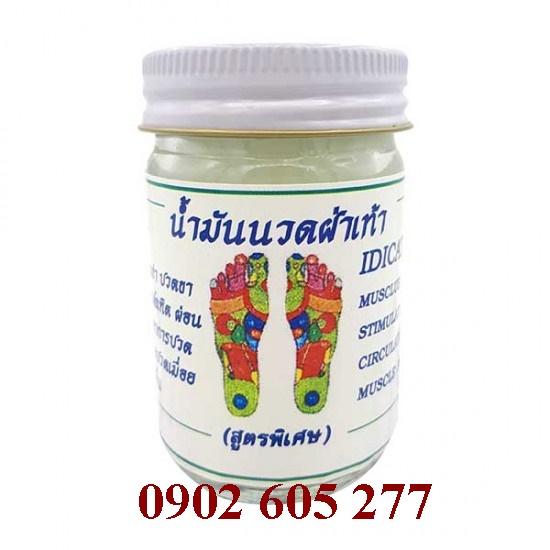 Dầu cù là Massage chân Thái Lan