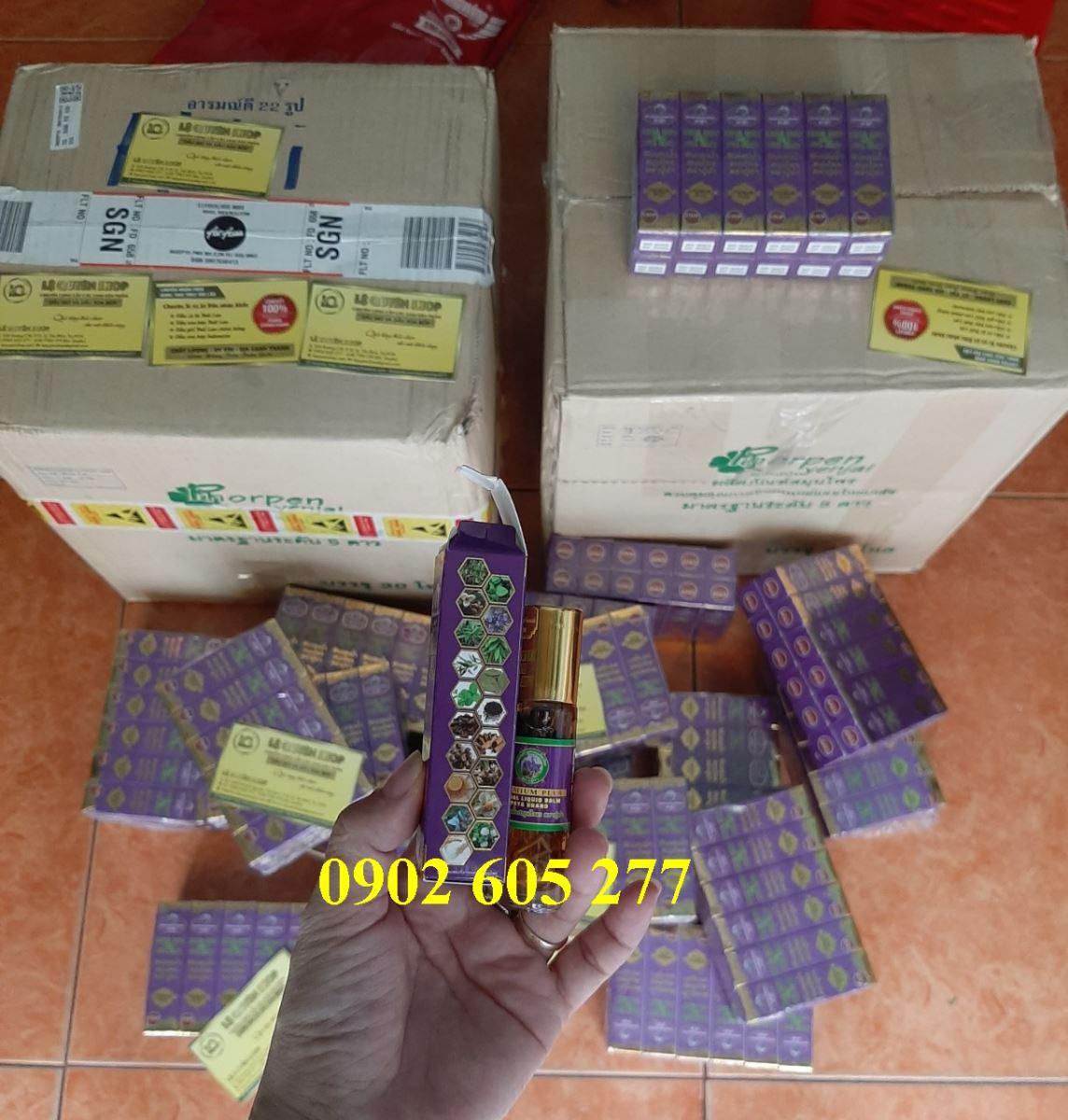 Phân phối Dầu gió thảo dược 19 vị Thái Lan tại Bạc Liêu