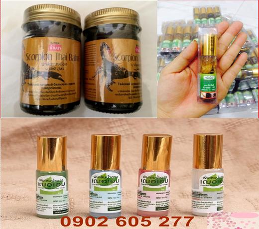 loại dầu lăn nhân sâm và dầu cù là  được ưa chuộng tin dùng ở thái lan