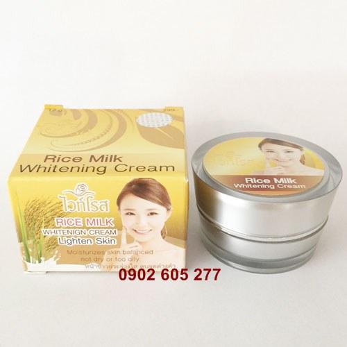 Kem Dưỡng Trắng Da Trị Nám Tàn Nhang Rice Milk Cream Thái Lan