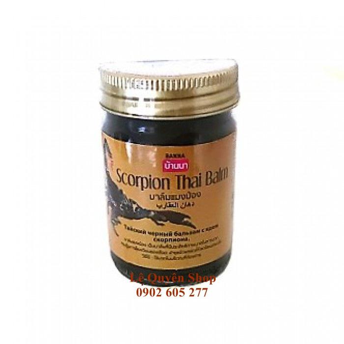 Cao dầu cù là Bò cạp Thái Scorpion Thai Baim