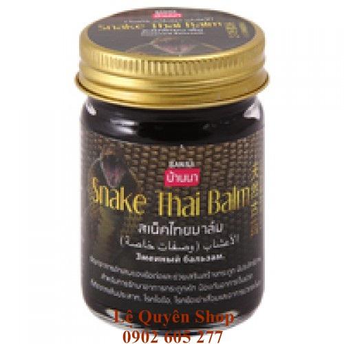 Cao dầu cù là Rắn Thái Lan Snake Thai Balm