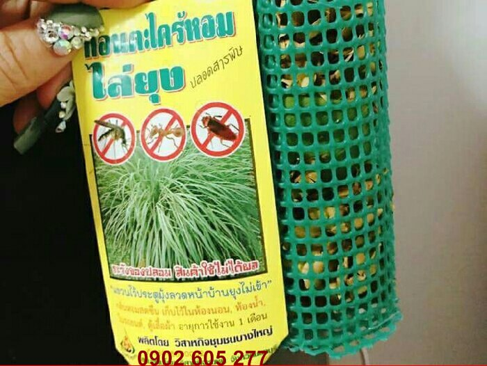 cho bạn ngôi nhà không côn trùng gây hại cho gia đình bạn  - bạn nên mua TÚI TREO ĐUỔI MUỖI THÁI LAN