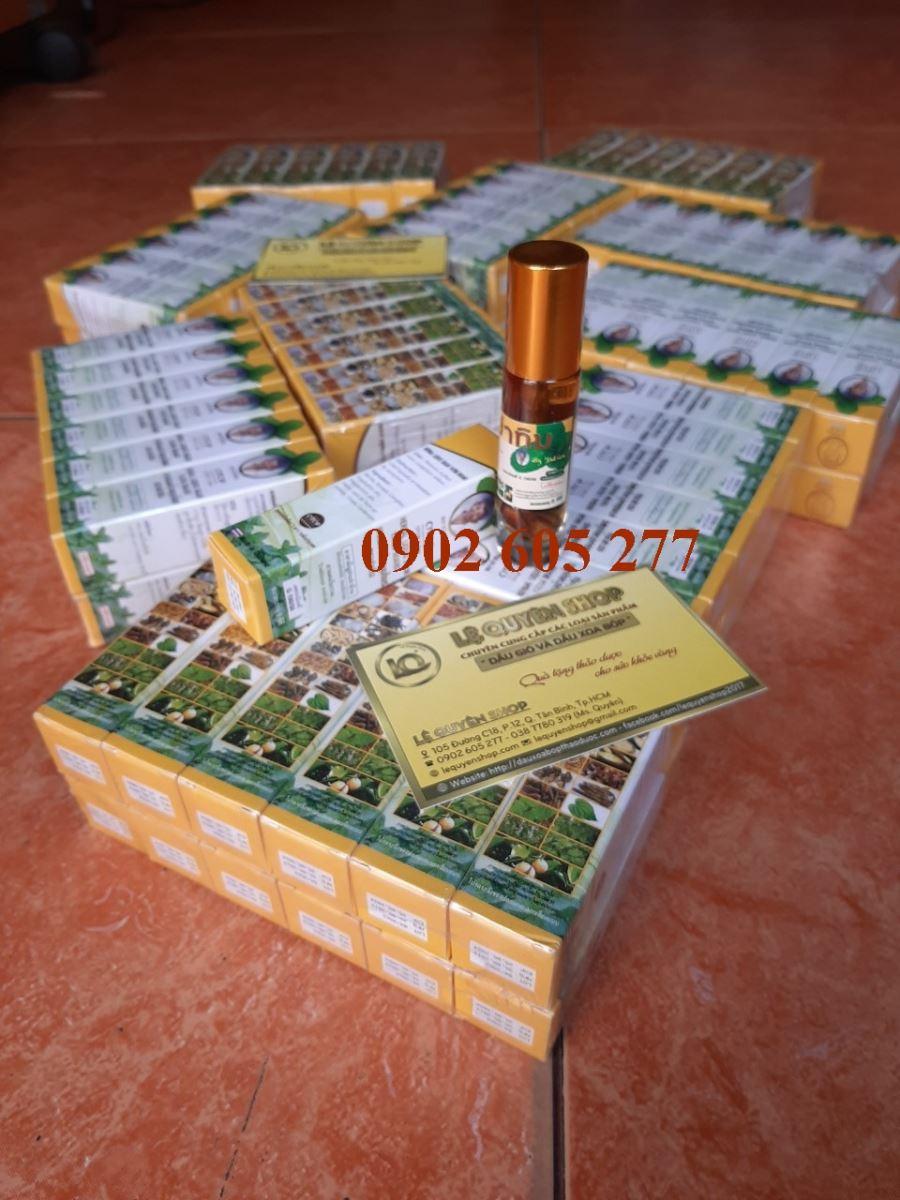 Phân phối Dầu lăn 25 vị thảo dược Thái Lan tại An Giang