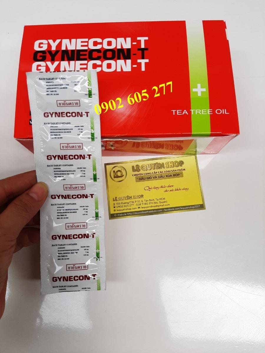 Viên Đặt Phụ Khoa Thái Lan Gynecon